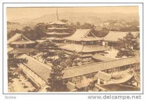 Horyuji Buddhist Temple, Nara, Japan, 20-30s