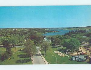 Unused Pre-1980 AERIAL VIEW OF TOWN Yarmouth Nova Scotia NS F3374