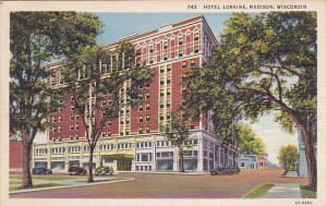 Hotel Loraine, Classic Cars, MADISON, Wisconsin, 30-40's