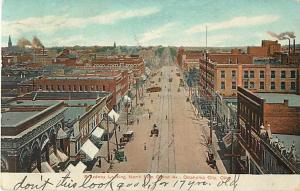 Broadway Looking N. from Grand Ave Oklahoma City OK 1907