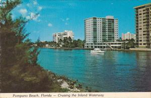High Rise Condominiums On The Inland Waterway Pompano Beach Florida