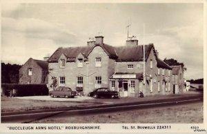 BUCCLEUGH ARMS HOTEL ROXBURGHSHIRE SCOTLAND UK