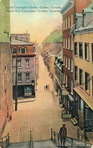 Canada - Little Champlain Street Quebec Canada 04.04