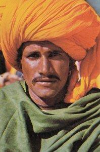 INDIA, 50-70s ; Portrait of Native Man