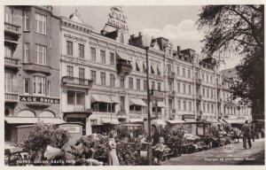 Malmo Gustav Adolfs Torg Sweden Rare Real Photo Postcard