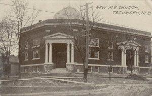 TECUMSEH , Nebraska , 1910 ; New M.E. Church