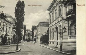 romania, BUCHAREST BUCURESTI, Aleea Carmen-Sylva (1910s)