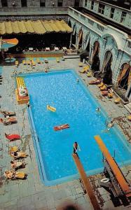 St Louis Missouri~The Sun And Swim Club Pool~1960 Postcard