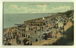 tp2783 - West Beach , Clacton-on-Sea , Essex - postcard