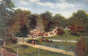View from Mtn. Sheep Hill, N.Y. Zoological Park, Bronx, Early Postcard, Unused