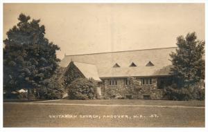New Hampshire  Andover , Unitarian Church,  RPC
