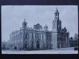 Yorkshire LEEDS Oxford Place Chapel c1904 by W.T.G.L 629