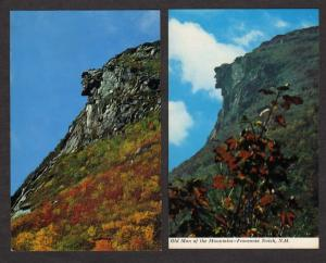 NH Lot 2 Old Man of the Mountains White Mtns New Hampshire Postcards