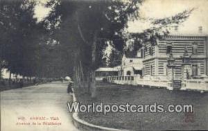 Vietnam, Viet Nam,  Nhân Vật Annam Vinh, Avenue de la Residence