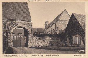 Varengeville-sur-Mer, France , 00-10s ; Manoir d'Ango - Entree principlale