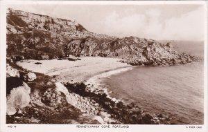 RP: Pennsylvannia Cove , PORTLAND , Dorset , England , PU-1954 ; TUCK