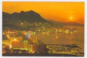 Evening view, Central & Eastern District,   Hong Kong, China, PU-1965