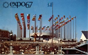 Canada - Quebec, Montreal. Expo '67. United Nations Pavilion