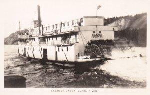 RP: Steamer CASA , Yukon River , Y.T. , Canada , 20-40s