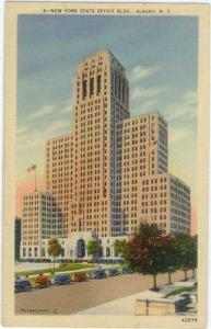 Linen of New York State Office Building Albany NY