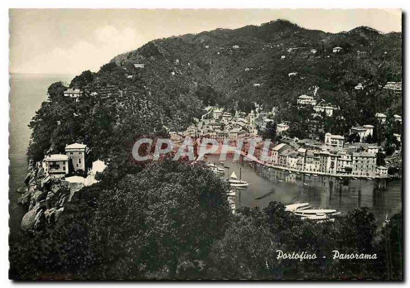 Modern Postcard Panorama Portofino