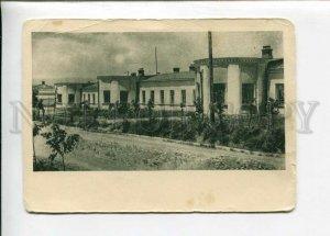 3126378 Tajikistan STALINABAD Narkomprost Building Vintage PC