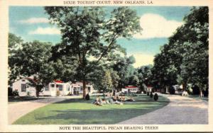 Louisiana New Orleans Dixie Tourist Court