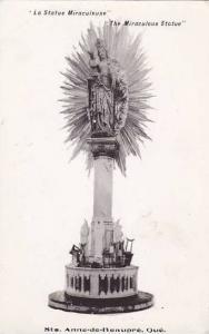 RP, La Statue Miraculeuse, Ste. Anne-de-Beaupre, Quebec, Canada, 1920-1940s