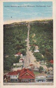 Tennessee Chattanooga Incline Railway Up Lookout Mountain 1914