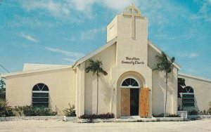 MARATHON, Florida, PU-1968; The Methodist Community Church