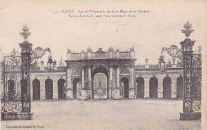 France Nancy Arc de Triomphe vu de la Place de la Carriere