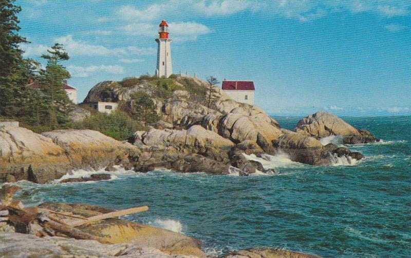 LIGHTHOUSE , Port Atkinson , West Vancouver , B.C. , Canada , 40-60s #1