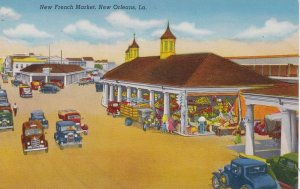 Louisiana New Orleans New French Market Curteich sk5038