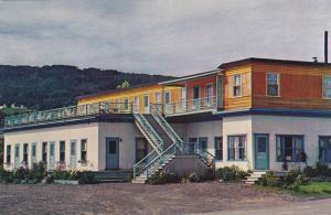 Motel Murray Bay, rue Eloi, La Malbaie, Province of Quebec, Canada, 40-60s