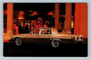 1980 Cadillac Advertisement, Chrome Postcard