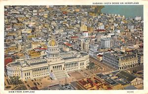 Habana Cuba, Republica de Cuba Vista Desde un Aeroplno Habana Vista Desde un ...