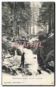 Gerardmer - At Skipping Guves - Old Postcard