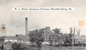 Chambersburg Pennsylvania Heinz Co Factory Exterior Vintage Postcard JA4742164