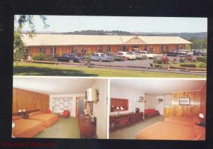 MIDDLETOWN NEW YORK CHADWICK MOTEL 1960's CARS VINTAGE
