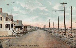 LPS98 Hampton Beach New Hampshire North Beach Cottages Vintage Postcard