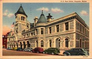 Maine Augusta Post Office 1942 Curteich