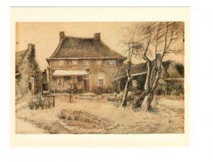 Van Gogh Vicarage at Neunen, Art Gallery of Ontario, Toronto, Ontario, 5.5X6 in