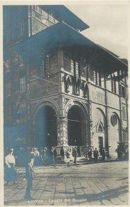 Postcard Italy Firenze Loggia del Bigalio