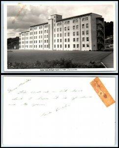 NEW ZEALAND RPPC Photo Postcard - Wellington Hospital, Nurses Home AH