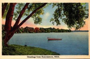Michigan Greetings From Roscommon