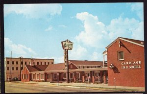 Virginia VIRGINIA BEACH The Carriage Inn Motel 1500 Atlantic Avenue 1967 Chrome