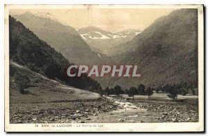 Postcard Old Approx Luchon La Vallee du Lys