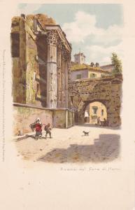 NERVI , Italy , pre-1907 ; Avanzi del Foro di Nervi