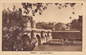 France Paris Le Pont Neuf