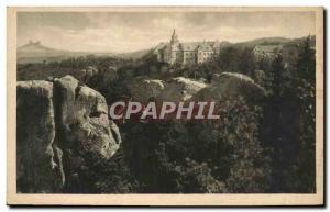 Old Postcard Cesky Raj Hruba Skala